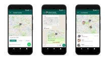 WhatsApp bekommt Möglichkeit zum Live-Tracking des User-Standorts