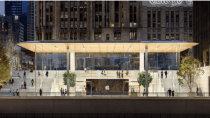 Design-Fail in Chicago: Apples neuer Store ist für Schnee nicht geeignet