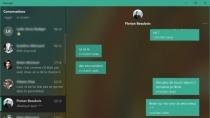 Fluent Design: Microsoft überarbeitet Messaging-App von Windows 10