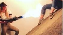Elon Musks Flammenwerfer kommt nicht durch den Zoll