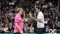 Bill Gates und Roger Federer: Tennis-Match bringt 2 Mio. Euro Spenden