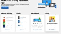 Neues Layout, mehr Übersichtlichkeit: Microsoft Konto im Fluent Design