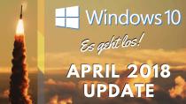 Windows 10 April 2018 Update ist ab sofort verfügbar