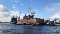 Das erste schwimmende Atomkraftwerk der Welt ist in See gestochen
