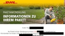 Phishing-Radar: Verbraucherzentrale warnt vor Fake-DHL-Paket-Mails