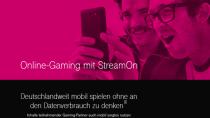 """StreamOn Gaming: Telekom startet ihr """"unbegrenztes"""" Spieleangebot"""