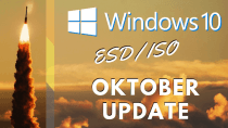 Windows 10 Oktober-Update: Download der Installations-Dateien