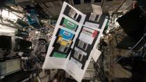 18 Jahre Schrank nicht aufgemacht: Gerst findet Disketten auf der ISS