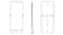 Erste Bilder vom Design: Faltbares Motorola Razr zeigt sich in Patent