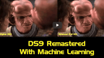 Fanprojekt: KI errechnet Full HD-Version von Star Trek Deep Space Nine