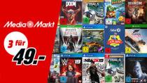 Nur noch 2 Tage: Media Markt hat 3 Spiele für 49 Euro im Angebot