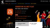 Congstar verdoppelt Daten-Volumen bei Allnet Flat, auch ohne Laufzeit