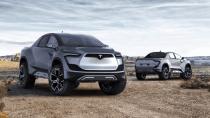 """Tesla-Pickup sieht laut Musk wie ein """"Cybertruck"""" aus der Zukunft aus"""