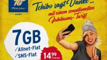Tchibo startet LTE-Allnet-Flat mit 7 GB für 14,99 Euro/Monat