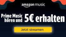 Prime Music: Amazon verschenkt 5 Euro für 30 Sekunden Streaming
