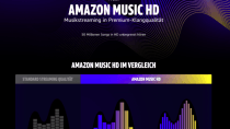Amazon Music: Streaming in UltraHD-Qualität für 90 Tage kostenlos