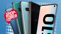 Shoptoberfest bei Sparhandy: Schnäppchenpreis Galaxy S10 + 10 GB LTE