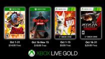 Xbox One: Diese Gratis-Spiele erhalten Gold-Mitglieder im Oktober