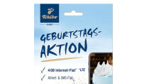Tchibo reduziert LTE-Allnet-Flat mit 4 GB auf 9,99 Euro/Monat