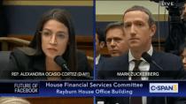 Politikerin Ocasio-Cortez zerlegt Mark Zuckerberg bei Anhörung