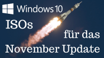 Windows 10 November 2019 Update - ISO-Dateien