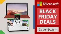 Black Friday bei Microsoft: 15 Prozent Rabatt auf Surface und Xbox