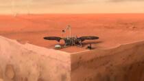 Mars-Lander befreit feststeckende Sonde - mit Schlägen per Schaufel