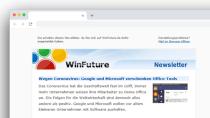 In eigener Sache: Der WinFuture-Newsletter - Jeden Donnerstag neu