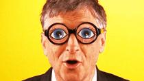 Gates: Verschwörungsglaube so dumm, man kann kaum dementieren