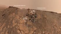 Curiosity: Mars-Rover schickt neue Aufnahmen vom Rekord-Aufstieg