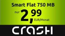 Crash-Tarif 750 MB plus 100 Minuten für 2,99 Euro (Update)