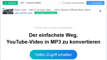 Free YouTube to MP3 Converter Download - Musik laden