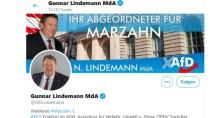 'Genderwahnsinn': AfD-Politiker Lindemann klagt über 'Fahrspurende'