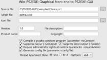 PS2EXE-GUI Download - PS-Skripte in EXE-Dateien wandeln