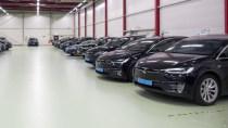 Tesla-Taxis in Amsterdam scheitern an Qualitätsmängeln