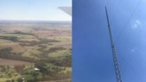 250 Meter hohe SuperCell: Ein Mast versorgt 40-km-Radius mit Netz
