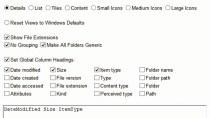 WinSetView Download - Ordneransicht in Windows anpassen