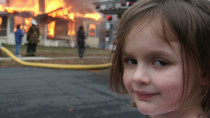 "Populäres Internet-Meme: ""Disaster Girl"" für 500.000 Dollar verkauft"
