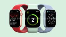 Apple Watch Series 7: Erste Bilder zeigen das neue Flat-Design