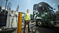 Glenfiddich: Laster fährt mit Single-Malt-Whisky-Abfällen