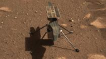 Mars-Helikopter entdeckt merkwürdige Linien auf der Oberfläche