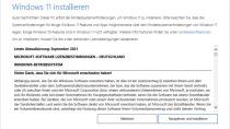 Installationsassistent für Windows 11 - Das sofortige 21H2-Upgrade