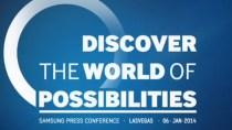 Samsung-CES-Event: Biegbarer TV und 4 Pro-Tablets