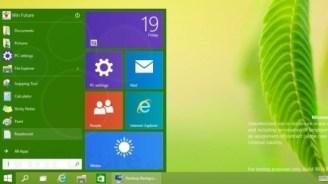 Windows 9: Akzentfarbe passt sich dem Hintergrund an (Update)