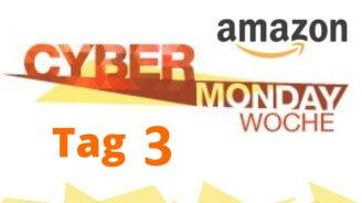 Amazon Cyber Monday-Woche Tag #3: Technik-Angebote im Überblick