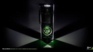 Nvidia k�ndigt GeForce GTX Titan X GPU mit 12 GByte Framebuffer an