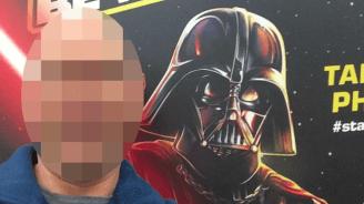 Selfie mit Darth Vader: Mann wird als Sexualstraft�ter beschuldigt