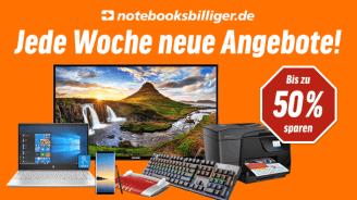 Notebooksbilliger: Jede Woche reihenweise neue Sonderangebote
