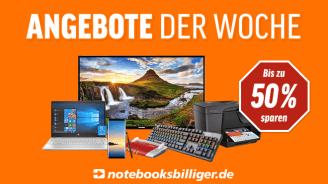 Notebooksbilliger: Viele Technik-Produkte wieder stark reduziert