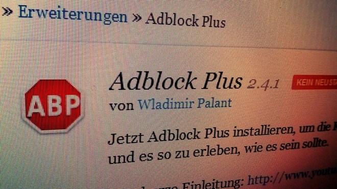 Werbung, Werbeblocker, Adblock, Adblock Plus, Wladimir Palant, ABP
